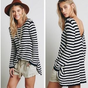 Free People Counting Stripes Swing Tunic Dress